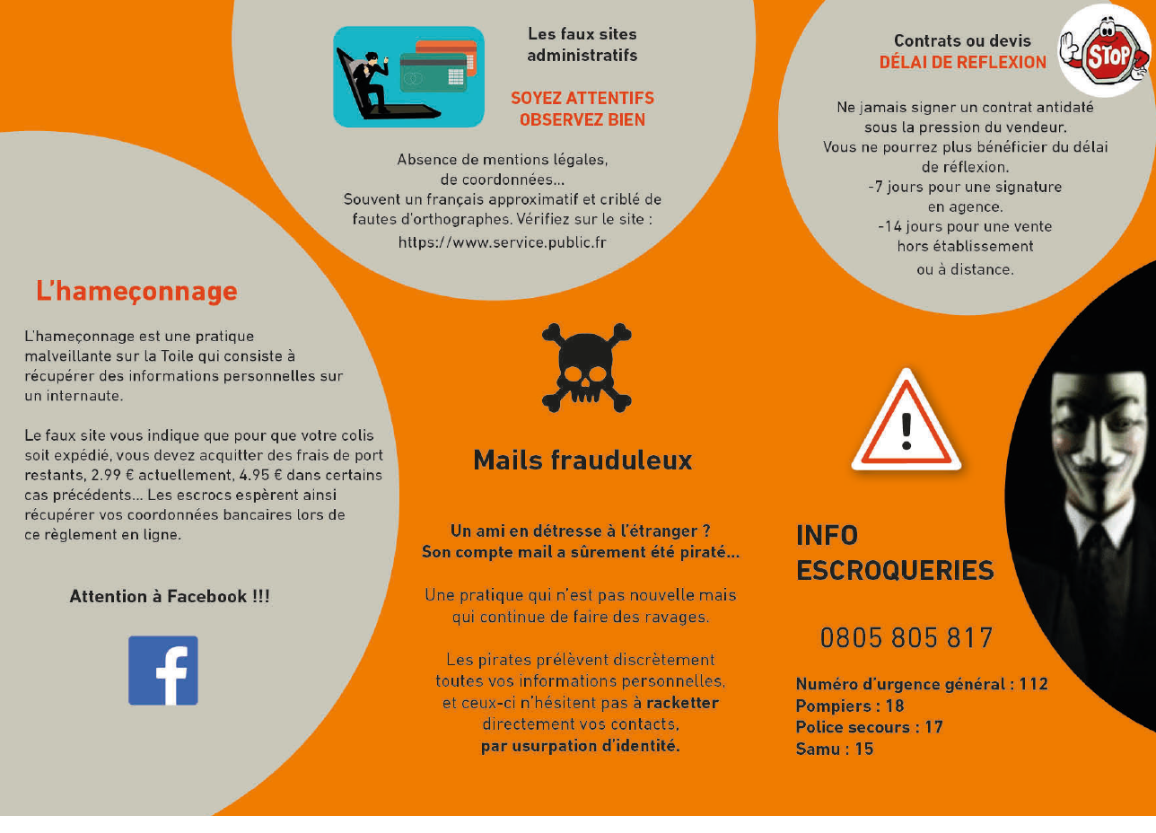 Arnaques Attention